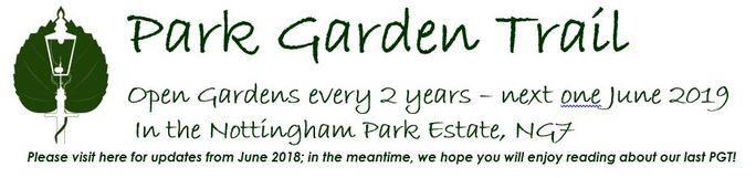 The Park Garden Trail - Nottingham